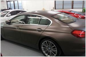 BMW640iのマットブラウン マット塗装コーティング