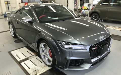 TTRS Coupe①
